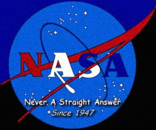 nasa  never a straight answer