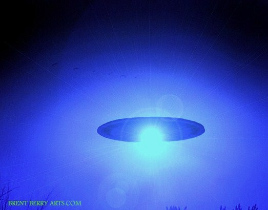 523 x 410  blue ufo