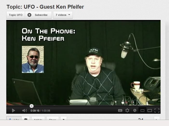 topic ufo interview published 4-15-12  ken pfeifer