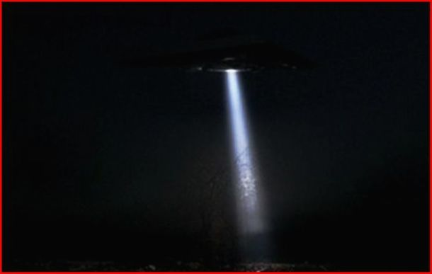 MYSTERIOUS LIGHT BEAM  Ufo Beaming Up