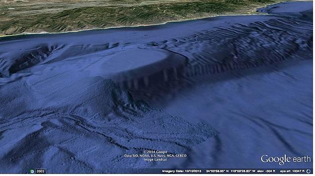 MALIBY CALIF CAVE  --PIC 2