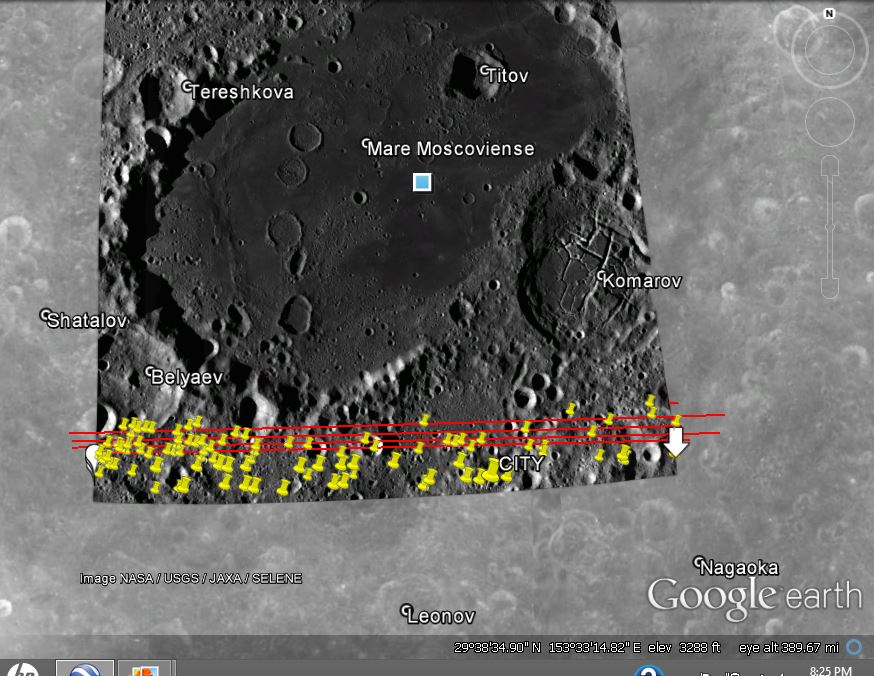 MOON--BELYAEV AREA--MANY DISCOVERIES BY KEN PFEIFER