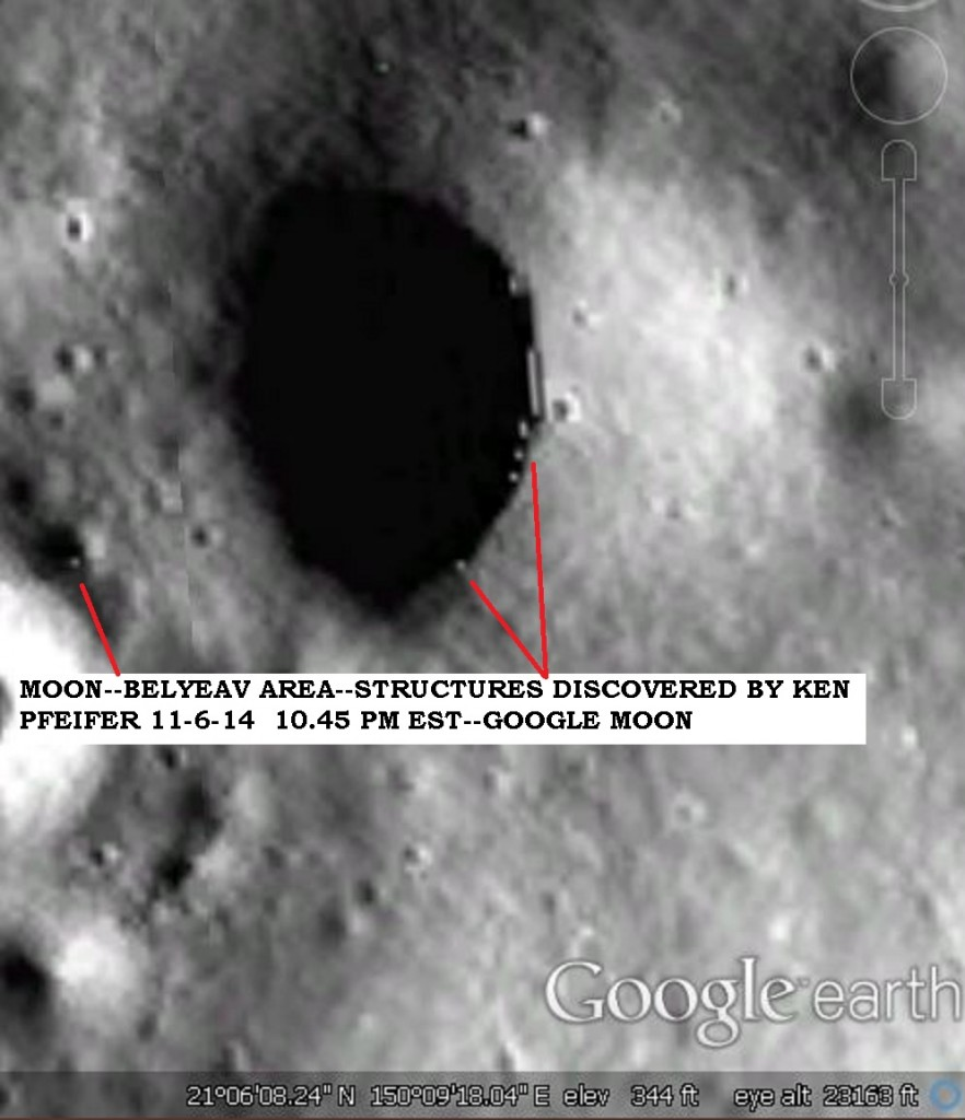 MOON--BELYEAV--OBJECTS DISCOVERY BY KEN PFEIFER 11-6-14 10.45 PM EST
