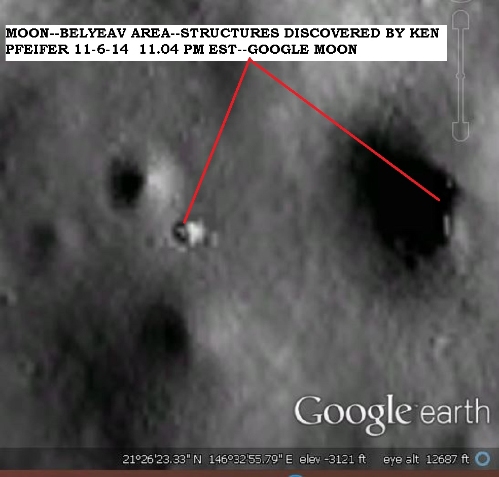 MOON--BELYEAV--OBJECTS DISCOVERY BY KEN PFEIFER 11-6-14 11.04 PM EST