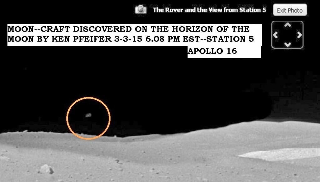 ARTICLE  MOON--STRANGE CRAFT ON THE HORIZON DISCOVEED BY KEN PFEIFER 3-3-125  6.08 PM EST  1 (2)