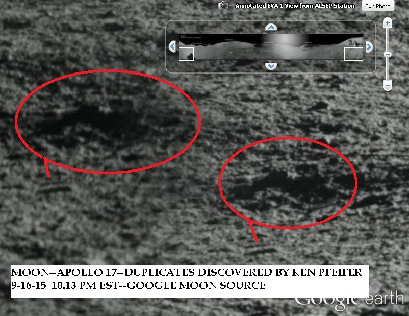 MOON--APOLLO 17 --DUPLICATES DISCOVERED BY KEN PFEIFER 9-16-15  10.13 PM EST