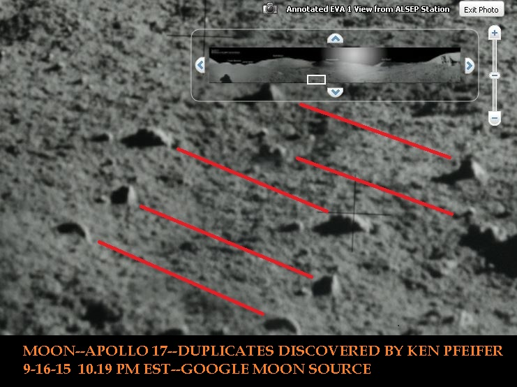 MOON--APOLLO 17 --DUPLICATES DISCOVERED BY KEN PFEIFER 9-16-15  10.19 PM EST