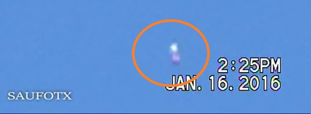 UFO News ~ UFO Passes Very Quickly Over El Cajon and MORE ARTICLE-ORB-KEN-PFEIFER-1-19-16-1