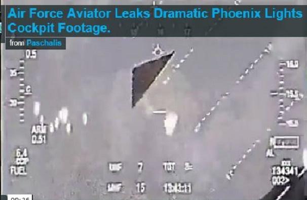 Phoenix Lights Enter Atmosphere (Real UFOs ) - YouTube  |Real Phoenix Lights