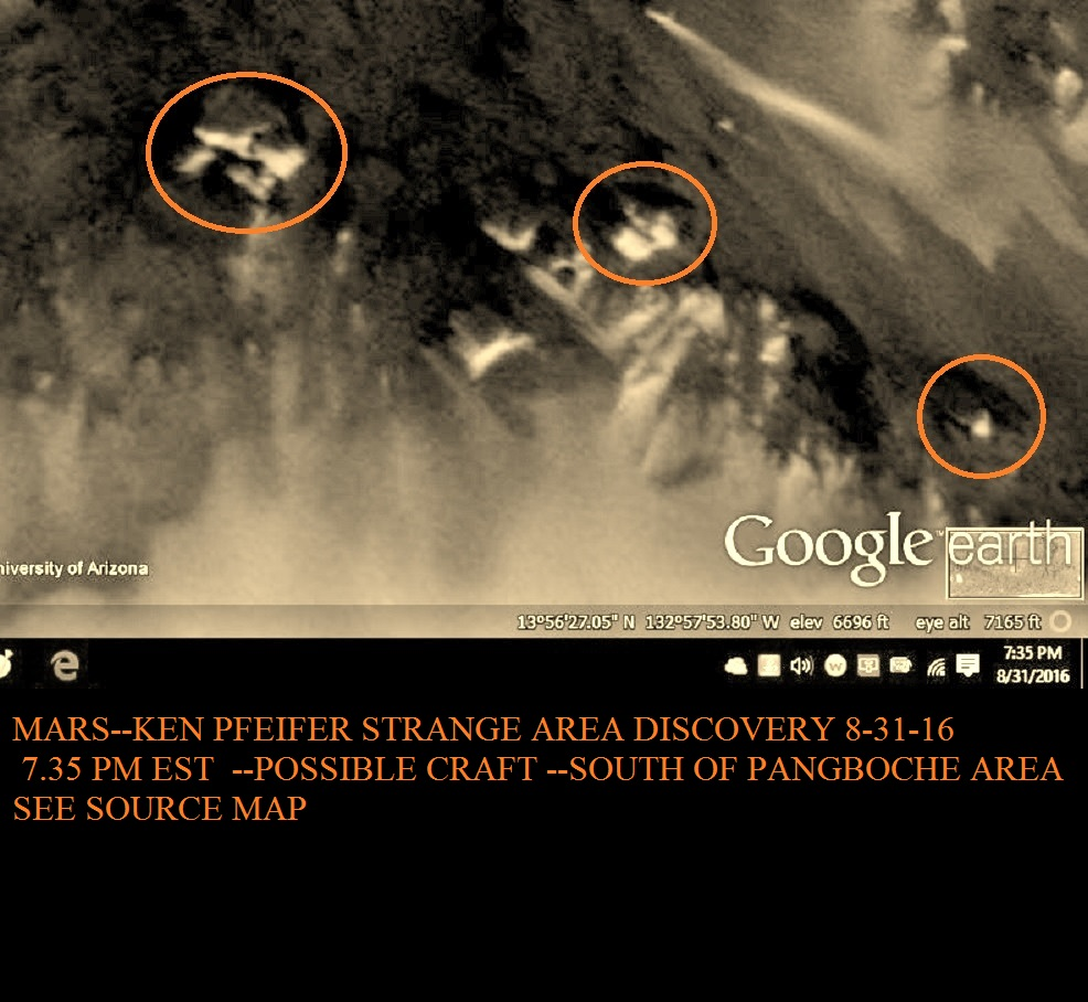 MARS--STRANGE AREA DISCOVERED BY KEN PFEIFER 8-31-16 7.35 PM EST.....