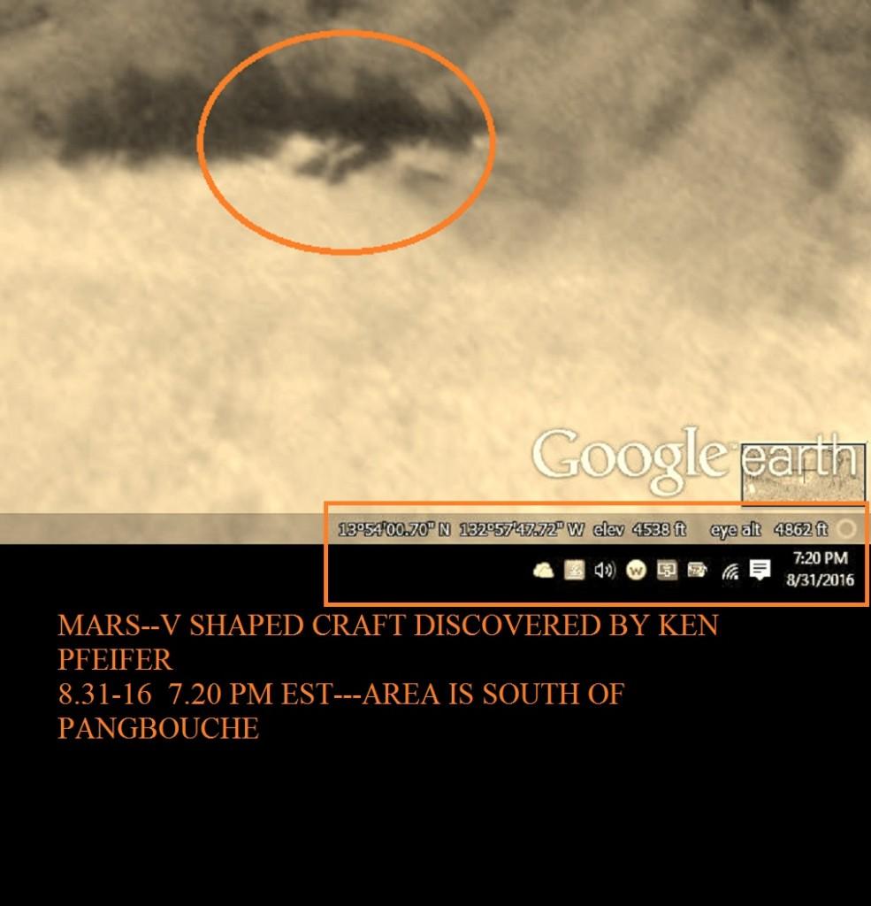 MARS--STRANGE CRAFT DISCOVERED BY KEN PFEIFER 8-31-16 7.20 PM EST.....