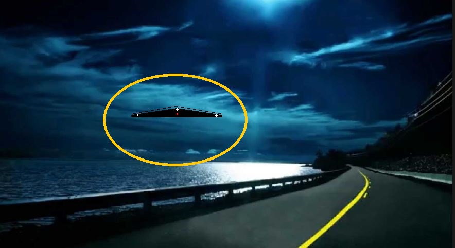 UFO News ~ TRIANGLE OVER LONG ISLAND NY and MORE TRIANGLE-HWY-NIGHT-KEN-PFEIFER-9-10-16